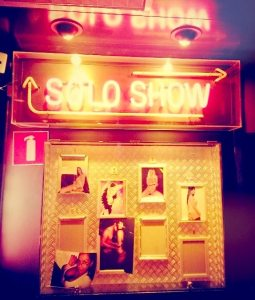 Interview Amsterdam Peep Show Solo