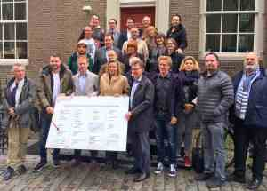 Exclusive members of Amsterdam Red Light District Tour Agreement