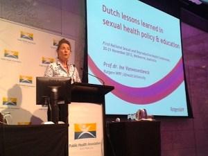 Dutch professor Ine Vanwesenbeeck about prostitution.