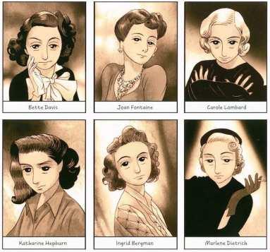 Anne Frank Comic Book Movie Stars