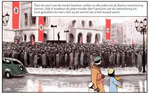 Anne Frank Comic Book Nazis