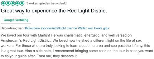 Amsterdam Red Light District Guide Martijn