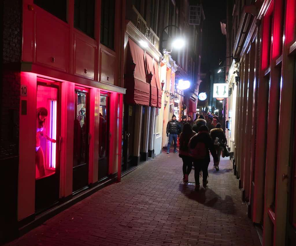 Amsterdam Audio Tours: GPS guided Red Light District Tour