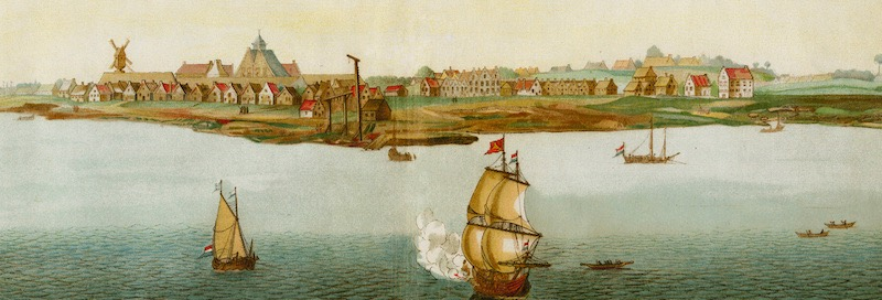 Dutch colony New Amsterdam