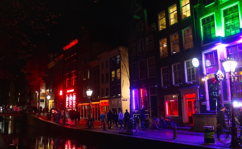 amsterdam facts red light district