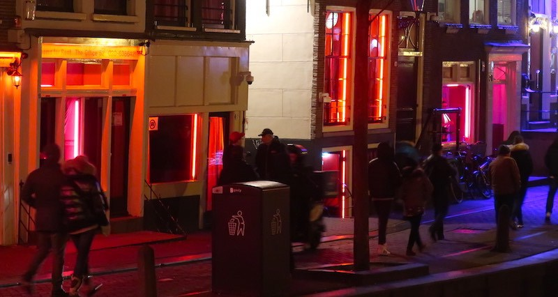 Amsterdam Brothel Street