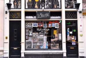 Amsterdam tour App Cafe t Mandje