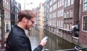 Amsterdam tour app Red Light District