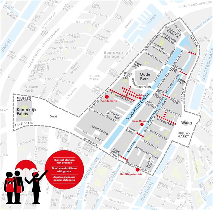Amsterdam Red Light District Tour Ban License
