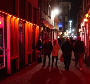 Amsterdam Tourism Statistics Red Light District