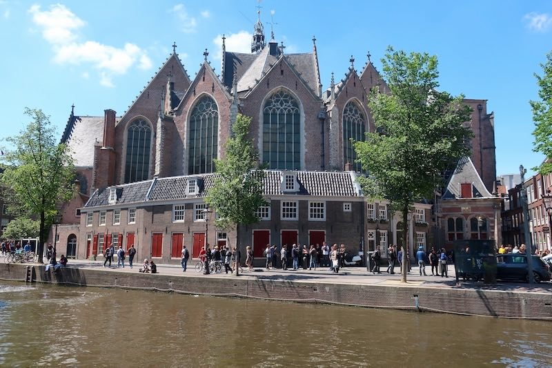 Oude Kerk Church Netherlands