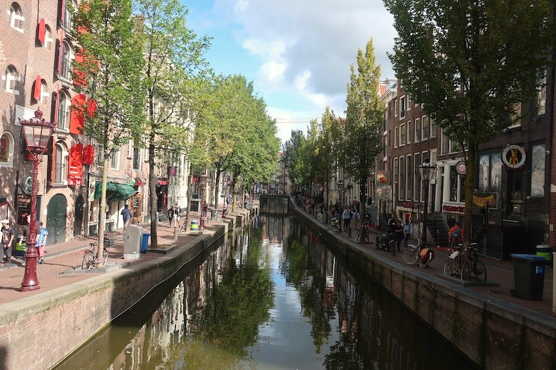 Amsterdam Red Light District Airbnb