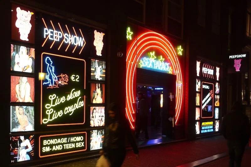 Amsterdam Peep Show