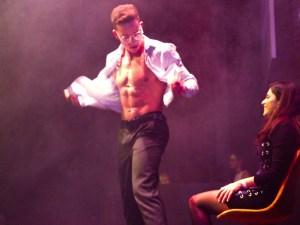 Male strip show In Amsterdam