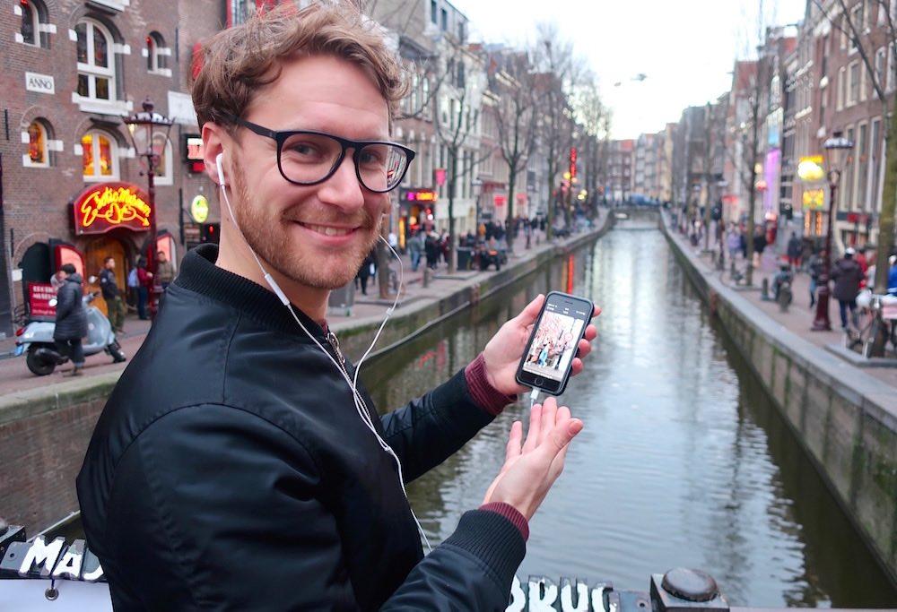 Amsterdam Audio Walking Tour