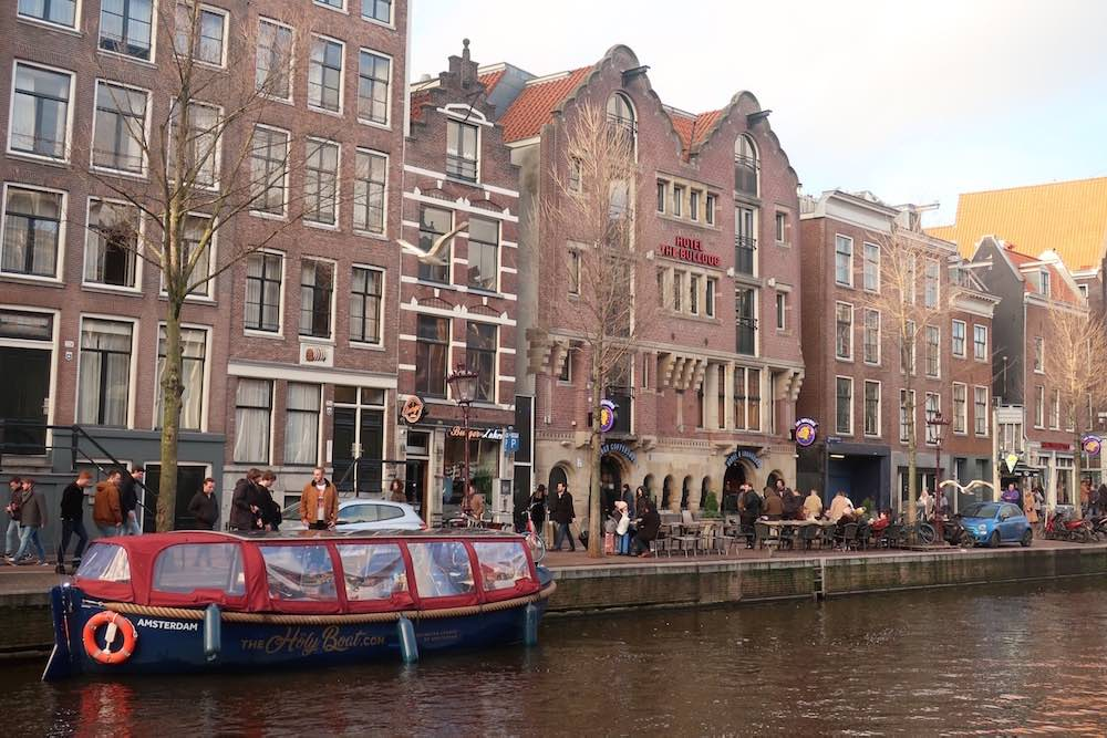 Amsterdam Weed Boat Tour