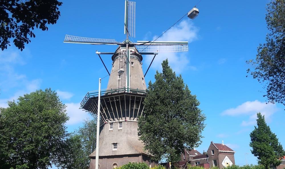 windmills netherlands zaanse schans