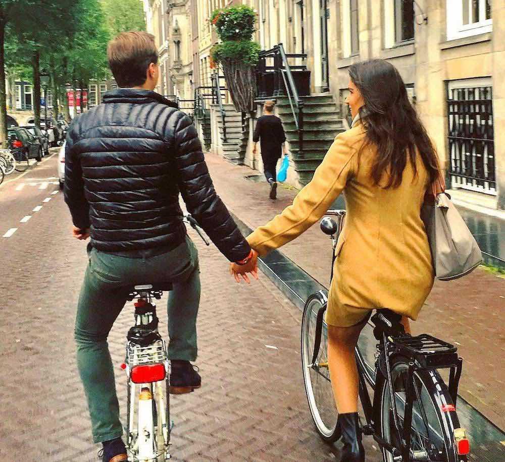 amsterdam by bike