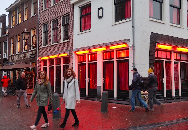 Amsterdam Red Light District Questions