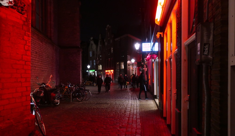 Red Light District in Holland