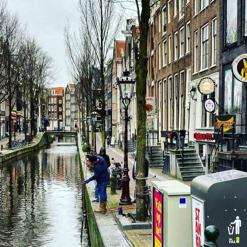Red Light District Amsterdam 2021