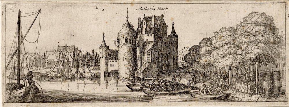 Sint Anthoniespoort 1609