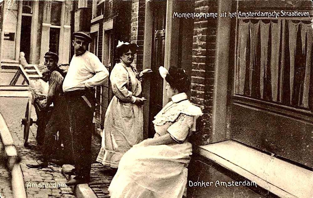 Amsterdam De Wallen 1905