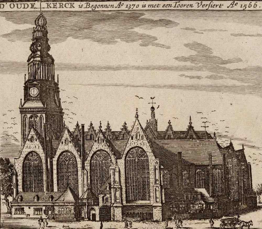 oude kerk geschiedenis