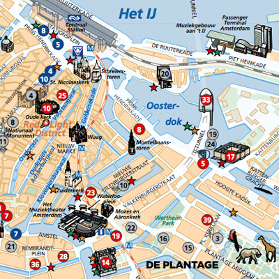 Free Amsterdam Maps and Apps for Download and Print