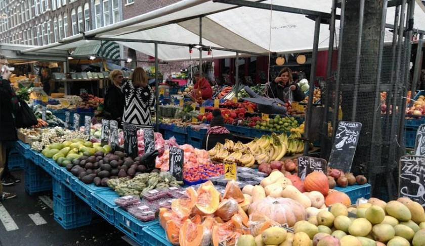 Albert Cuyp Market - le bancarelle di frutta e verdura