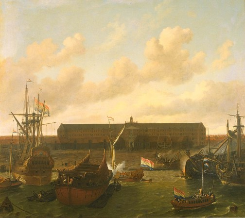 2 z The_dock_of_the_Dutch_East_India_Company_at_Amsterdam