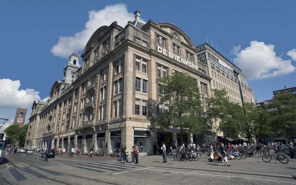 The leading department store in the Netherlands: de