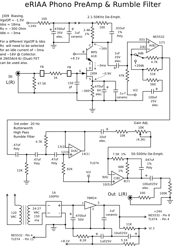 phono preamp circuit