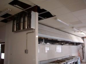 Proteccin contra incendios campanas de cocina industriales