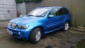BMW X5 Blue