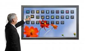 image of amt media touchscreen display unit on www.amtmedia.co.uk