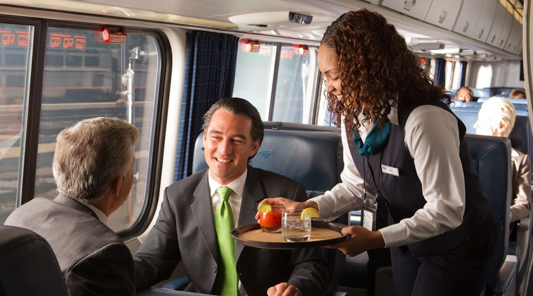 First Class Seat  Amtrak