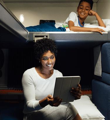 Superliner Accessible Bedroom  Amtrak