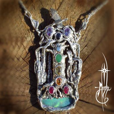 The Chakra Tree Amulet