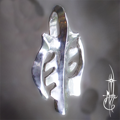 Custom Gye Nyame Amulet