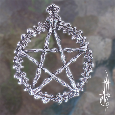 Custom Oak Pentacle