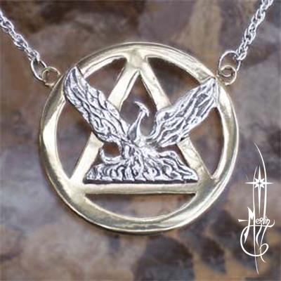 Custom Phoenix Amulet