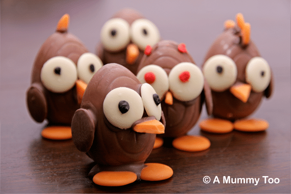 How to make chocolate Easter chicks