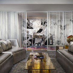 Decorative Screens For Living Rooms Brown Room Chairs W Hotel Screen Doors Amuneal Magnetic Shielding Case Study 50698 Client Structure Tone Design Location Times Square New York Ny