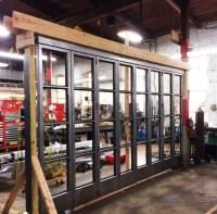 Steel Accordion Doors