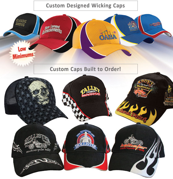 Custom Headwear | Custom Caps | Custom Visors | Wicking ...
