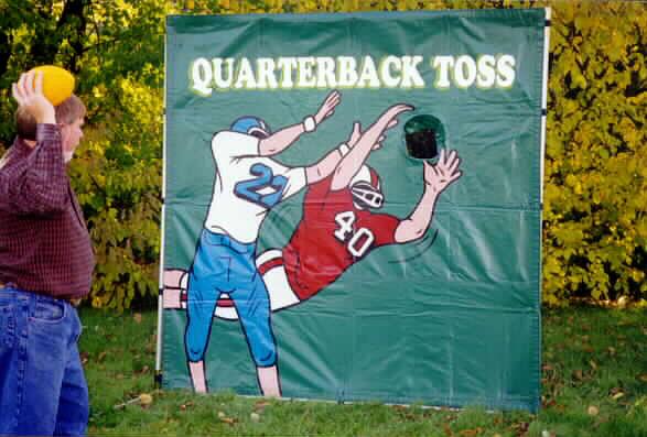 Frame Game Football Toss Cincinnati A1 Amusement