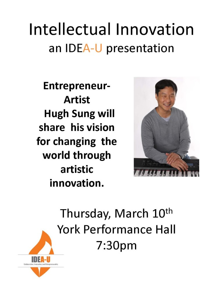 Hugh Sung event flyer