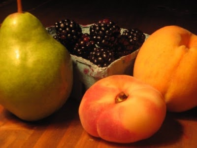 Peaches, Pears, Blackberries-Oh My!