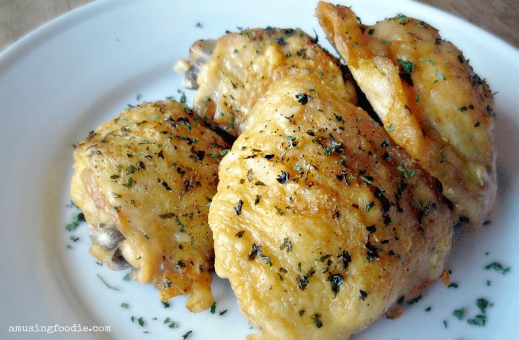 recipe: crispy chicken thighs oven [25]